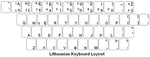 Lithuanian Keyboard Labels - DSI Depot