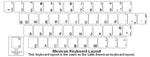 Mexican (Spanish) Keyboard Labels - DSI Depot