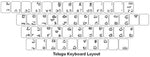 Telugu Keyboard Labels - DSI Depot