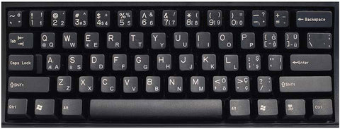Turkish Q Layout Keyboard Labels - DSI Depot