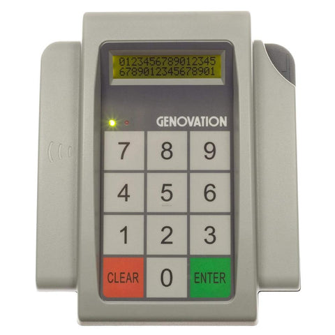 Genovation MiniTerm 905 12-Key Membrane Number Pad - DSI Depot