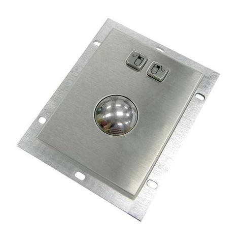 Metal Kiosk Mountable Optical Trackball Mouse USB KA-OPT-1001-U - DSI Depot