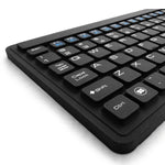 Spanish Layout Industrial Silicone Waterproof USB Keyboard Touchpad IKB107-S with IP68 - DSI Depot