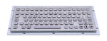 Industrial Metal Kiosk Compact Keyboard with FN Key DKM-C-1002 - DSI Depot