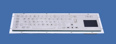 Industrial Metal Kiosk Compact Touchpad Keyboard with Flat Keys DKM-CP-3001 - DSI Depot