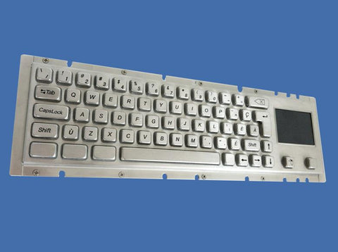 Industrial Metal Kiosk Compact Touchpad Keyboard with Mechanical Key Switch DKM-CP-4001 - DSI Depot