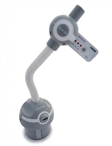 Universal Car Cup Mount with Gooseneck and FM Transmitter - DSI Depot