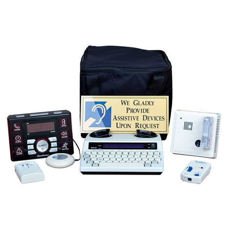 ADA Compliant Guest Room Kit 1000S Soft Case - DSI Depot