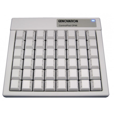 Genovation ControlPad CP48 MAC USB HID - DSI Depot