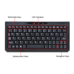 Solidtek Super Mini Bluetooth Keyboard KB-3152B-BT - DSI Depot