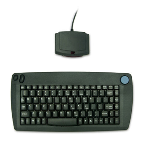 Solidtek IR Wireless Black USB Keyboard w/ Built in Trackpoint - ACK571UB - DSI Depot