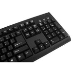 Solidtek KB-6600BU Full Size Alps Mechanical Switch USB Keyboard - DSI Depot