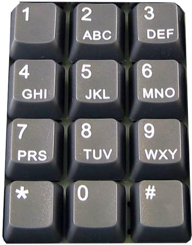 12-Keys Tel Layout Set, Enter & Puller - DSI Depot