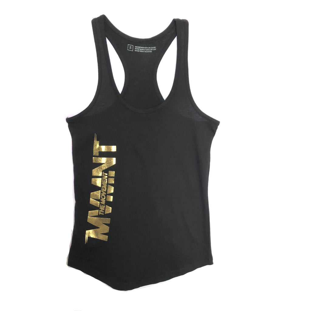Ladies MVMNT - Tank (gold logo)