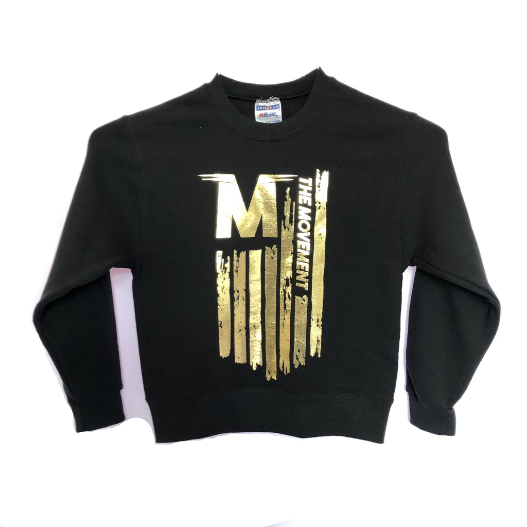 Youth Flag Crewneck