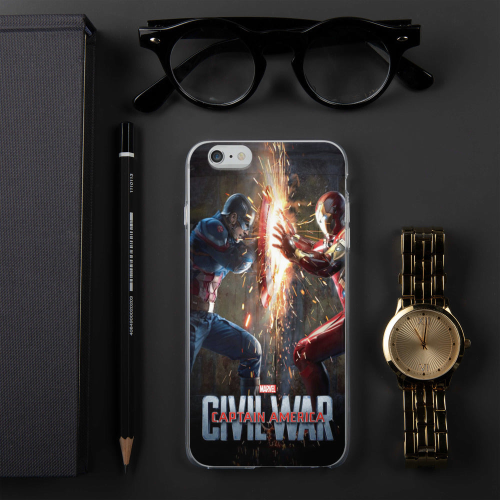 Captain America Civil War IPhone Case - Armenzo