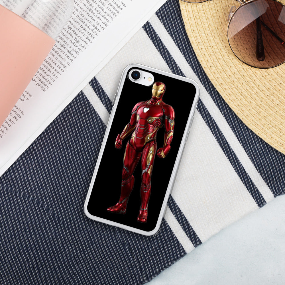 Iron man Liquid Glitter IPhone Case - Armenzo