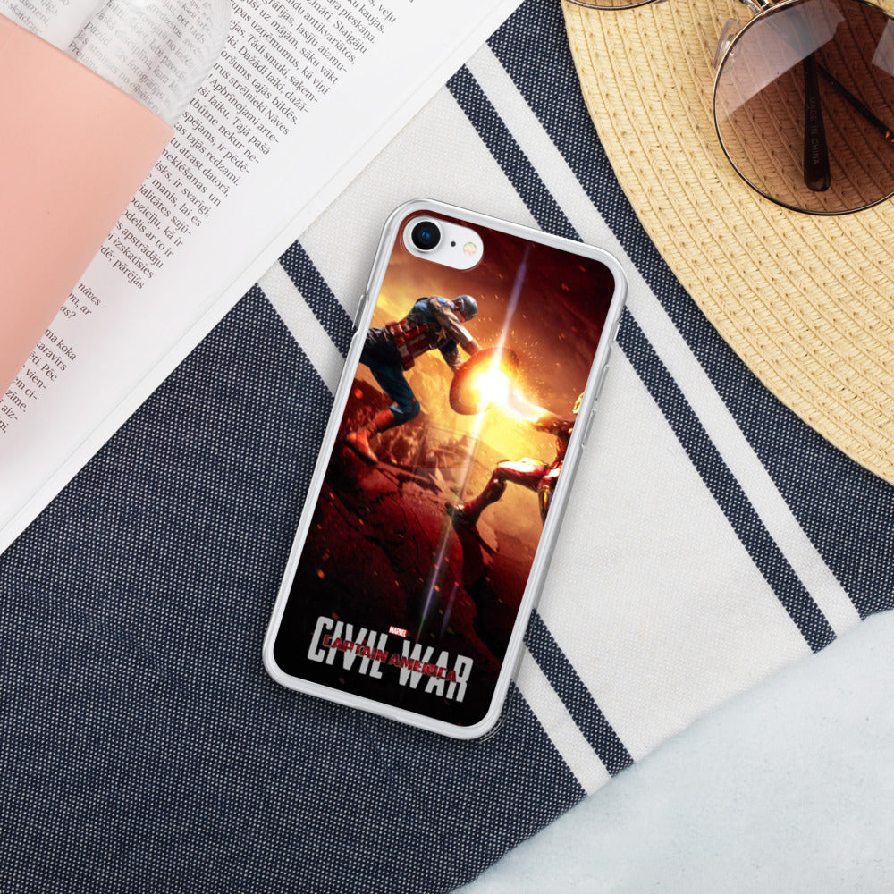 Captain America Civil War Liquid Glitter IPhone Case - Armenzo