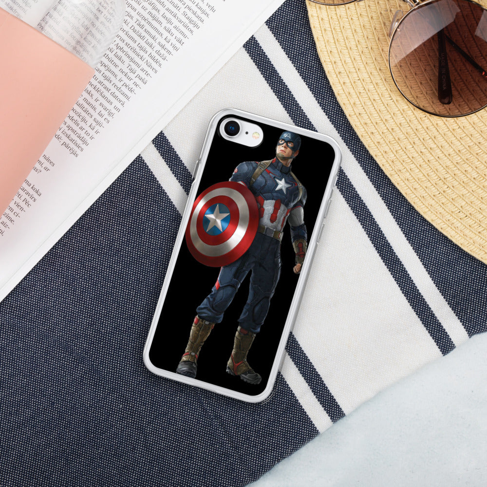 Captain America Liquid Glitter IPhone Case - Armenzo