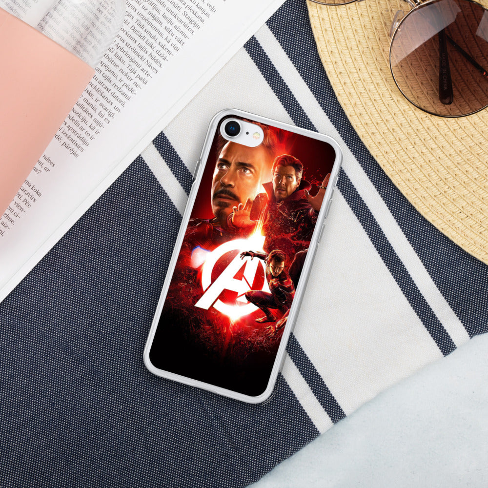 Avengers Liquid Glitter IPhone Case - Armenzo