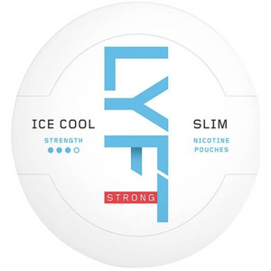 LYFT ice cool - nicotine pouch - nicopod - tobacco-free - snus alternative