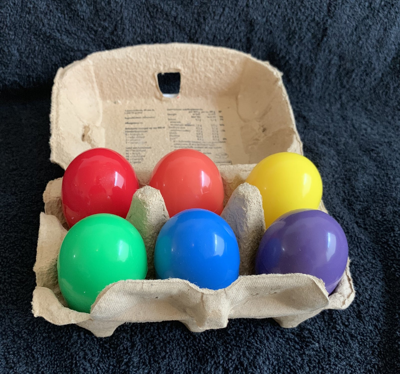 Chicken eggs, Rainbow pride clutch