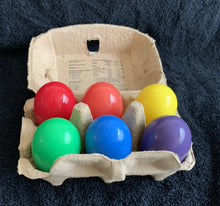 Load image into Gallery viewer, Chicken eggs, Rainbow pride clutch