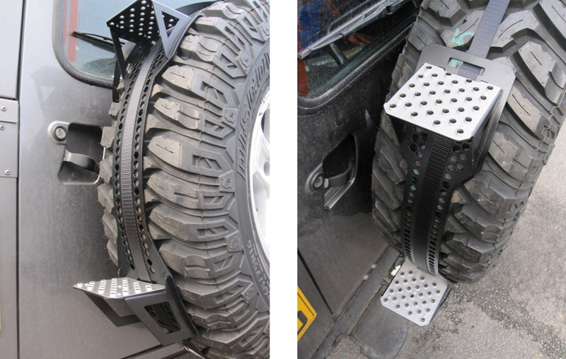 Spare Tyre Step