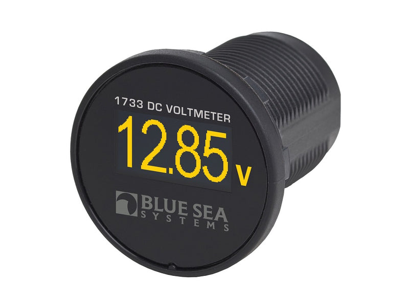 Blue Sea Mini OLED Voltmeter