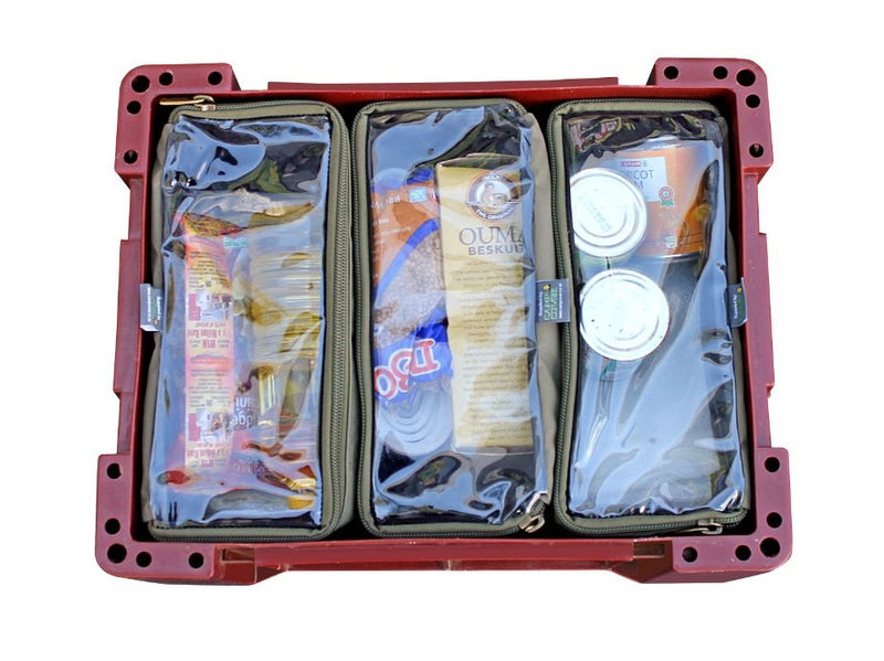 Camp Cover Wolf Box Pouch- 3 x Thirds