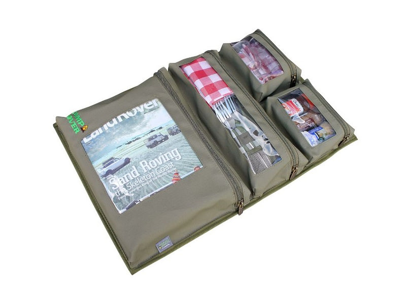 Camp Cover Door Storage System- 4 Pockets