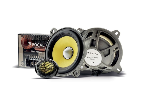 Focal ES100K Speakers & Tweeter Kit