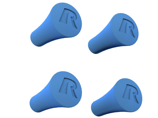 RAM Blue Rubber Caps