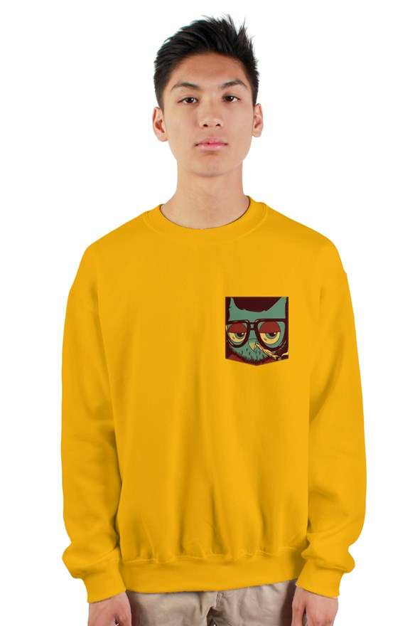 420 KNURD GOLD POCKET SWEATER