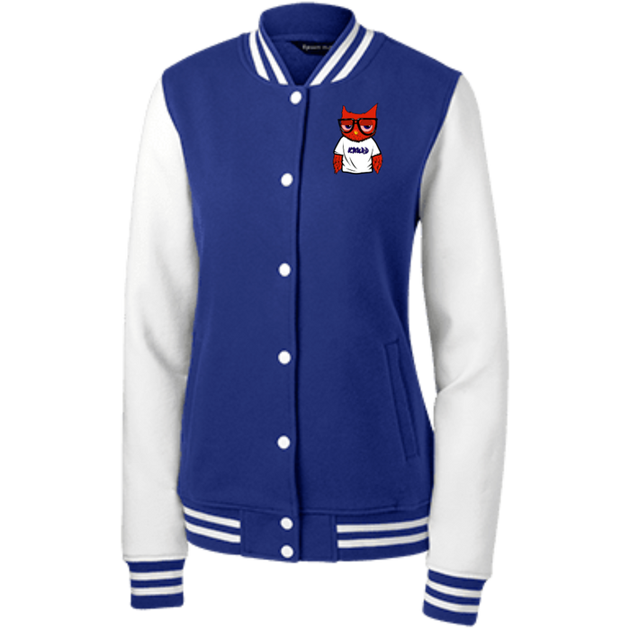 BLUE DREAM WOMEN'S LETTERMAN