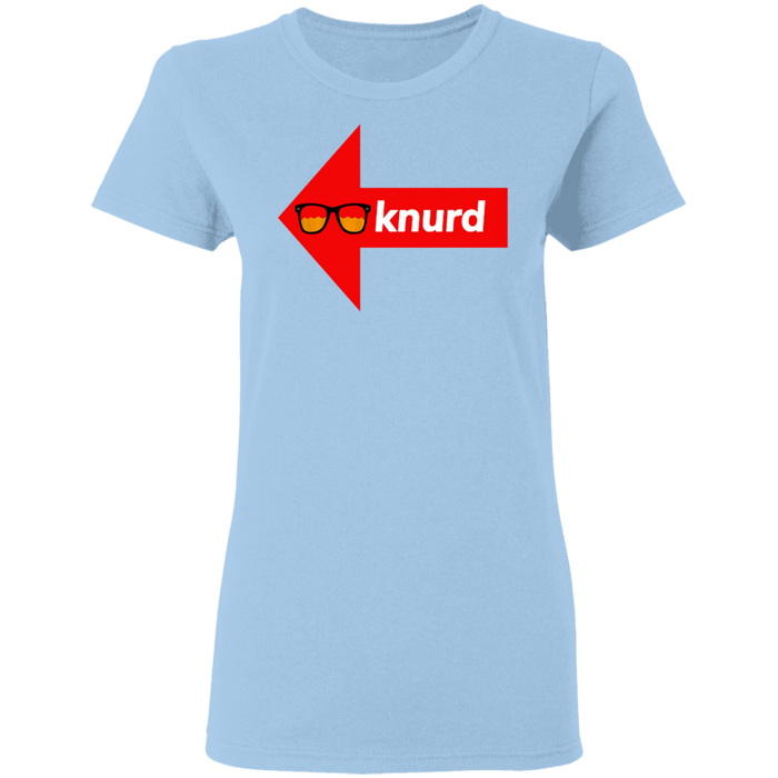 LADIES DRUNK KNURD TEE