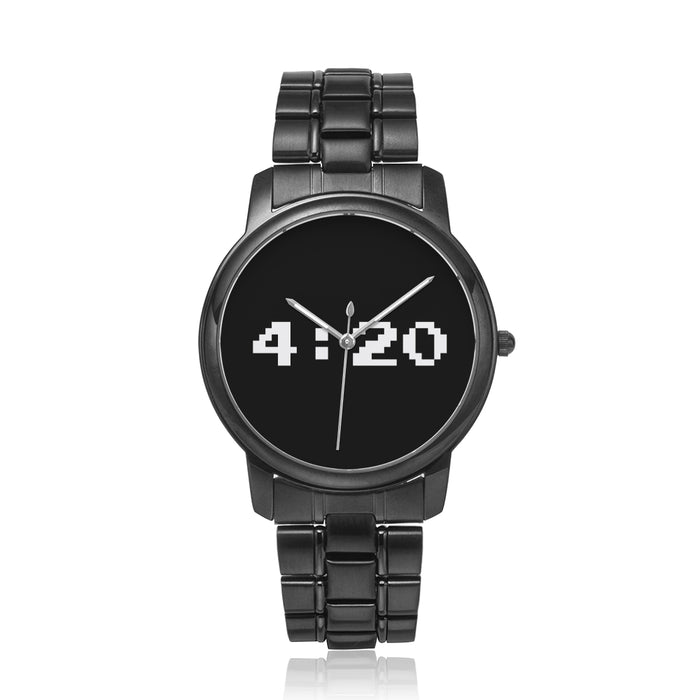 BLACK METAL 420 WATCH