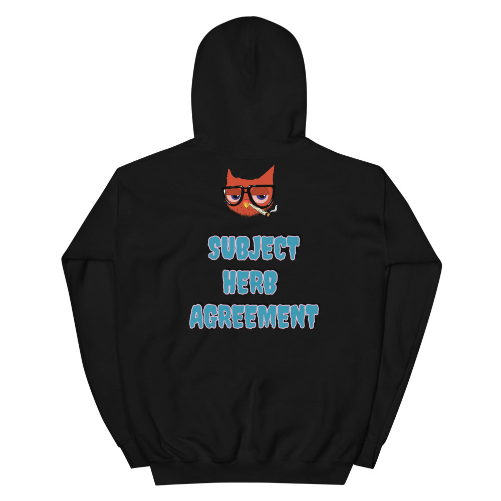 SUBJECT HERB AGREEMENT HOODIE