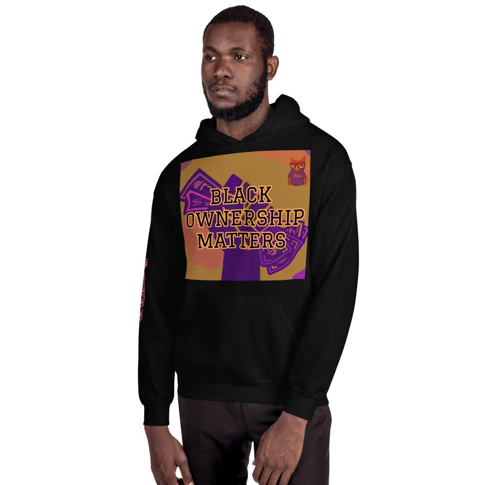BLACK OWNERSHIP MATTERS KNURD HOODIE