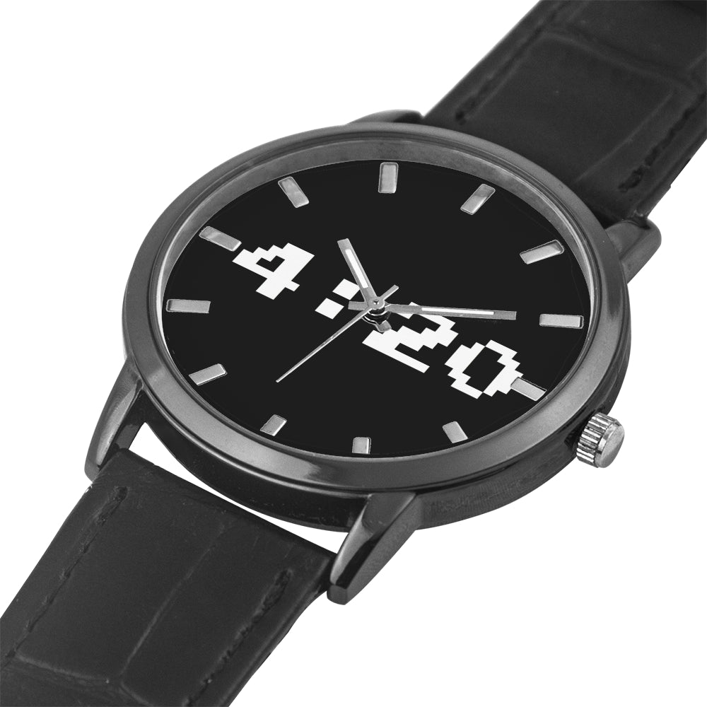 420 LEATHER BAND WATCH