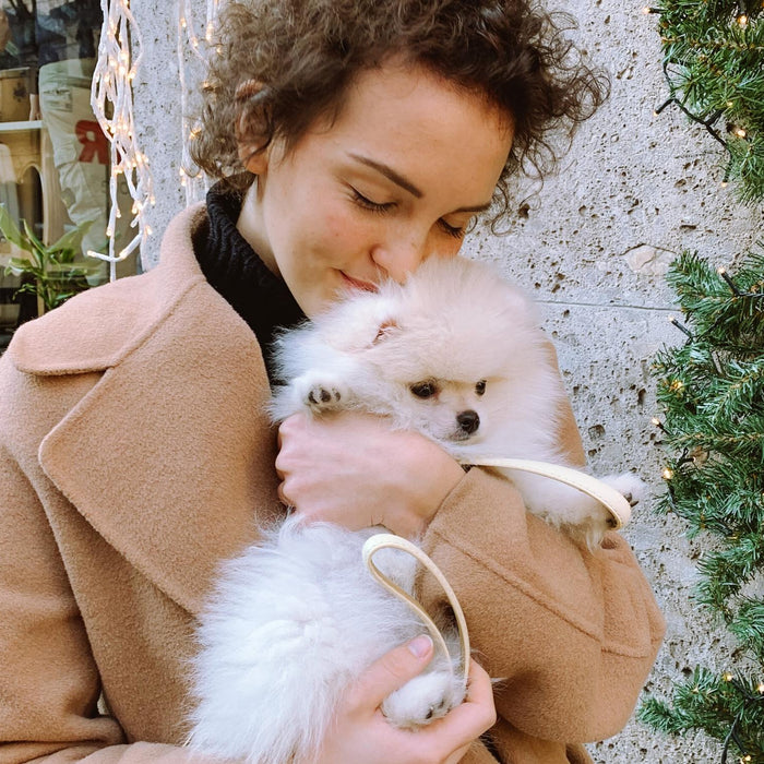 Italian influencer Melissa Marello talks about becoming a dog mom