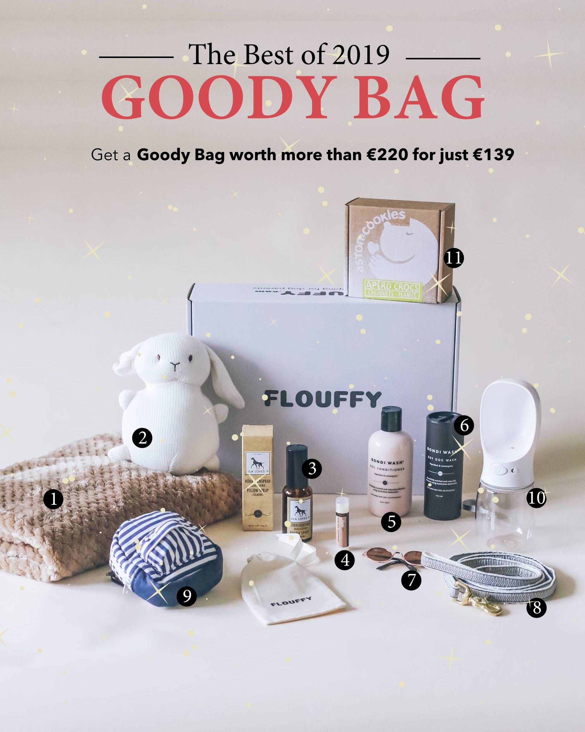 FLOUFFY The Best of 2019 Goody Bag
