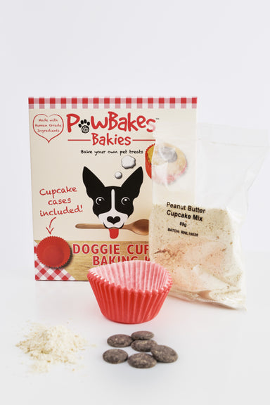 PawBakes dog cupcake baking kit