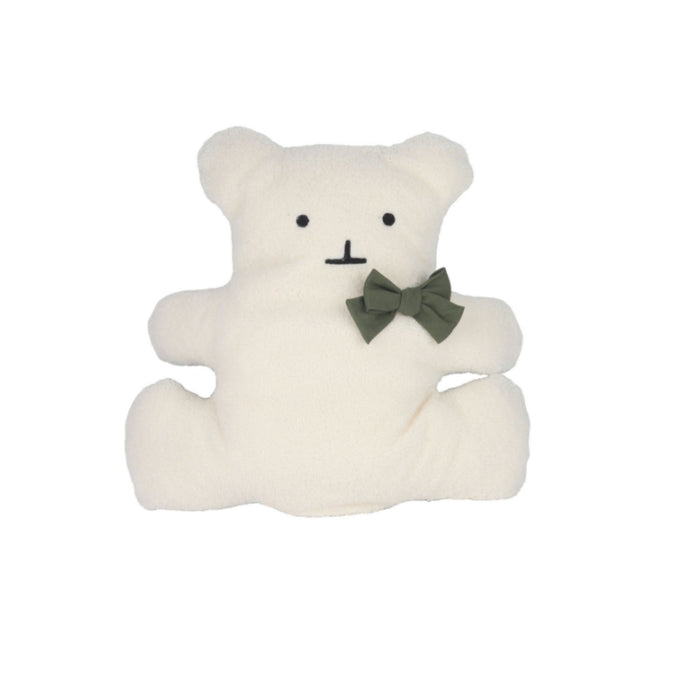 Bolge Bear Friend dog bed in white