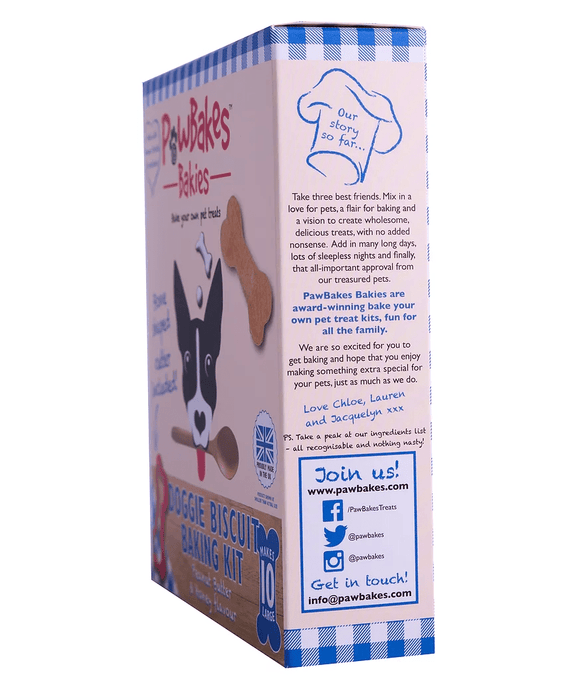 PawBakes dog biscuit baking kit