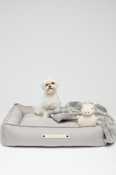 Labbvenn Töve dog bed in nut