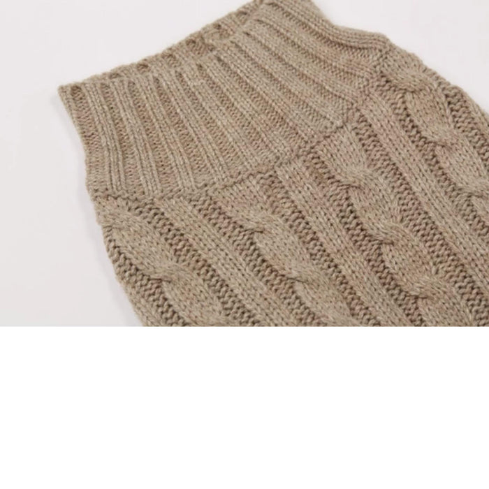 Turtleneck Knit Jumper