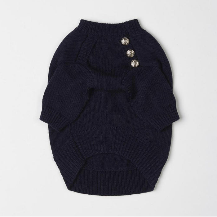 Button Jumper (Navy)
