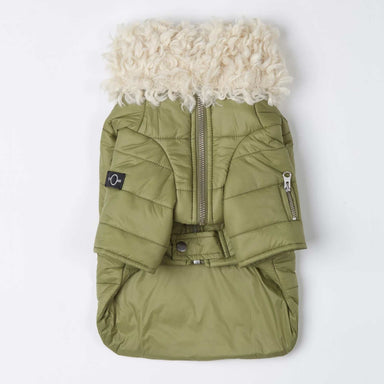 Faux-Fur Puffer Jacket