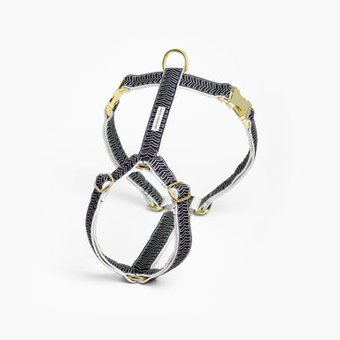 Standard Dog Harness – Chef l'Bark Black & Cream